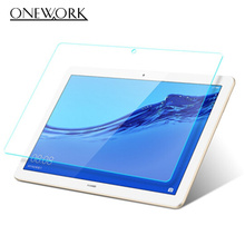 For Huawei MediaPad T5 10 July 2018 10.1 inch Tablet Screen Protector Protective Film Tempered Glass цена и фото