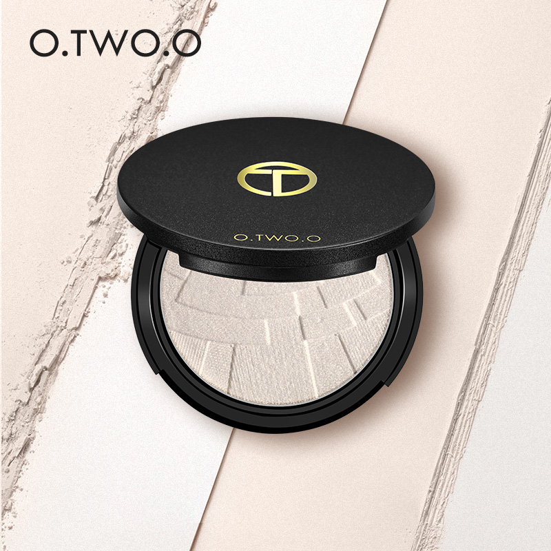 O.TWO.O Glow Kit Powder highlighter Maquillage Imagic Illuminator Brightening Face Baked Highlighter Powder