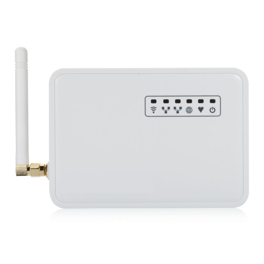 LoRa Gateway can Connect via LAN WiFi 3G or 4G with Ethernet USB host port for Monitoring and Control Open Source OpenWrt