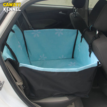 CAWAYI KENNEL Sunflower  Waterproof Oxford Car Seat Cover