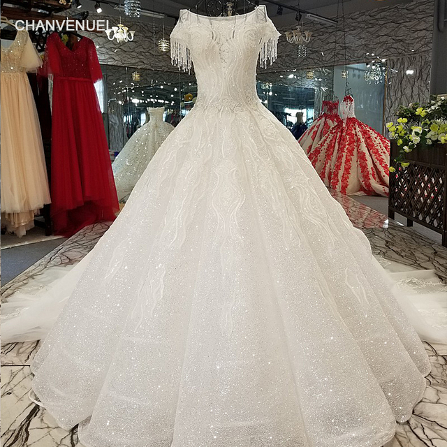 LS34470 beaded cap sleeves shiny beauty wedding gown made in china o-neck  keyhole back bridal wedding dresses 2018 with glitter 32cff87c9150
