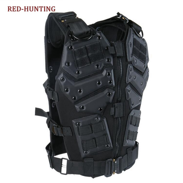 Airsoft TF3 Tactical Vest CS Paintball Protective Tactical Vest Waistcoat with 5.56 Magazine Pouches