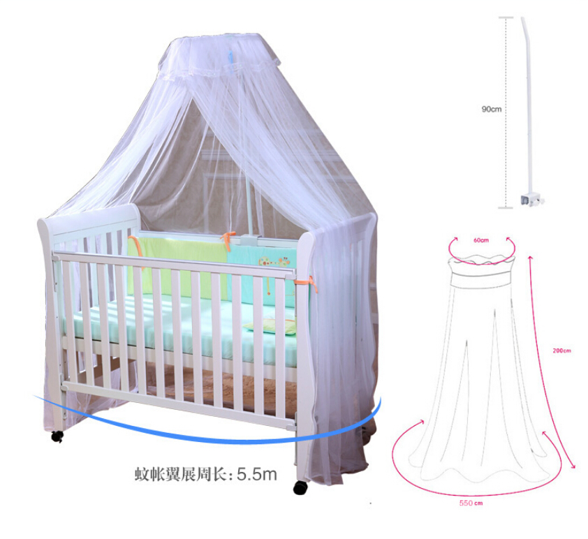 Beautiful Baby Bed Canopy Mosquito NetChild Bed TentBed Curtains Canopy Baby Toddler Bed Crib Canopy Netting White Pink Yellow-in Crib Netting from Mother ...  sc 1 st  AliExpress.com & Beautiful Baby Bed Canopy Mosquito NetChild Bed TentBed Curtains ...
