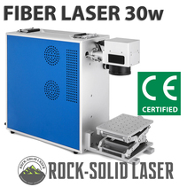 цены 30W Fiber Laser Marking Machine Portable Laser Marker with Z-Axis Worktable Engraving Machine CE Certified Factory Direct Supply