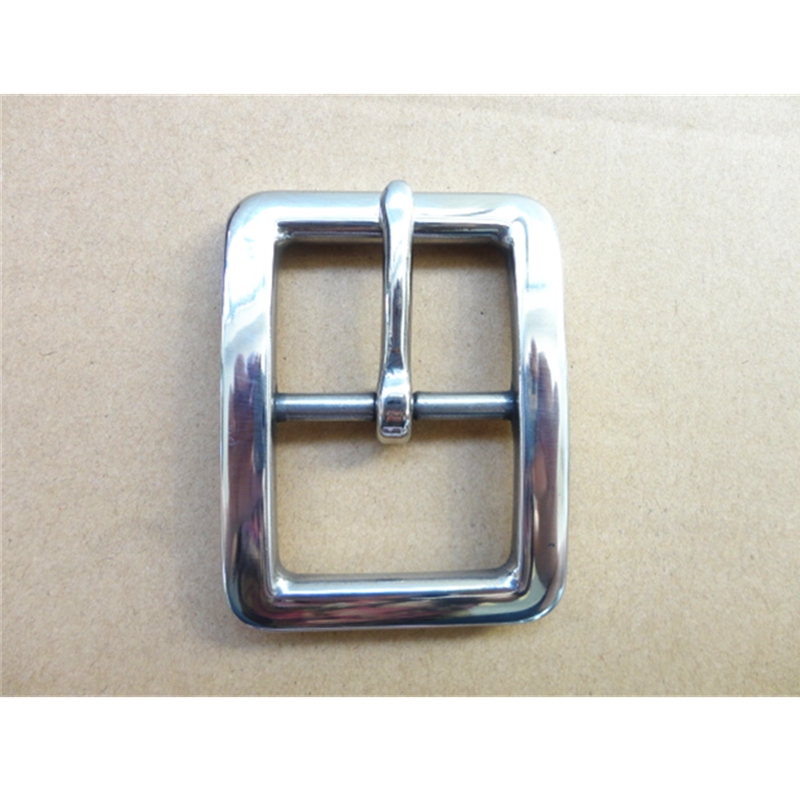 Stainless Steel Pin Buckle  Hand Polished  Inside Width 40mm