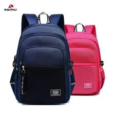 Children Large-capacity Reflection School Bag For Girls Boys School Bag Bookbag Kids Satchel Waterproof Backpack Mochila Escolar недорого
