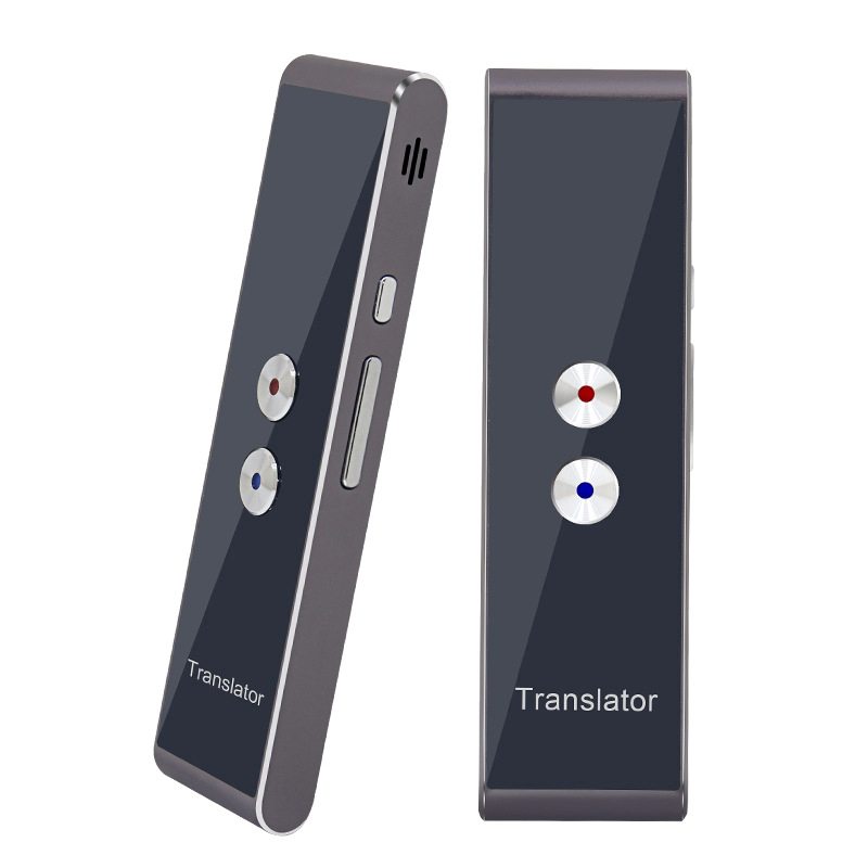 BGreen Portable Intelligent Voix Traducteur-Bidirectionnelle en Temps Réel Multi Langue de Traduction Pour L'apprentissage Voyage D'affaires