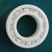 Full Ceramic Bearing 6206 30x62x16 Mm Ball Bearings Non Magnetic Insulating PTFE Cage ABEC 3
