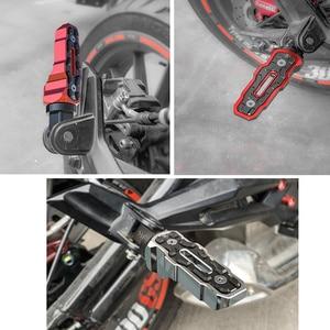 Image 2 - Spirit Beast Motorcycle Foot Rests Rear Pedal Motorbike for Honda Benelli Yamaha Hayabusa Bmw Triumph Harley Kawasaki