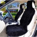 Auto universal de capas de piel esquilada de piel de Mouton car seat covers 100% natural de piel de oveja de piel cosido de piezas 2016 venta C001-B ROCA NAIL