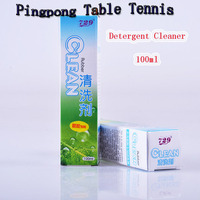 100ml table tennis paste spray liquid glue cleaner adhesive life extension pingpong racket back rubbers clean detergent tool