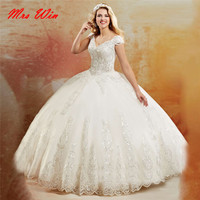 White Beading Sequined with Pleat Zipper Floor Length Quinceanera Dresses Organza V neck with Spaghetti Straps