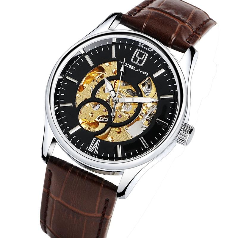 Relojes mecánicos automáticos de lujo de YISUYA Relojes analógicos - Relojes para hombres - foto 4