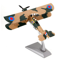 1/72 scale England Classic Jet fighter World War II Navy Army Swordfish aircraft airplane models adult children toys military