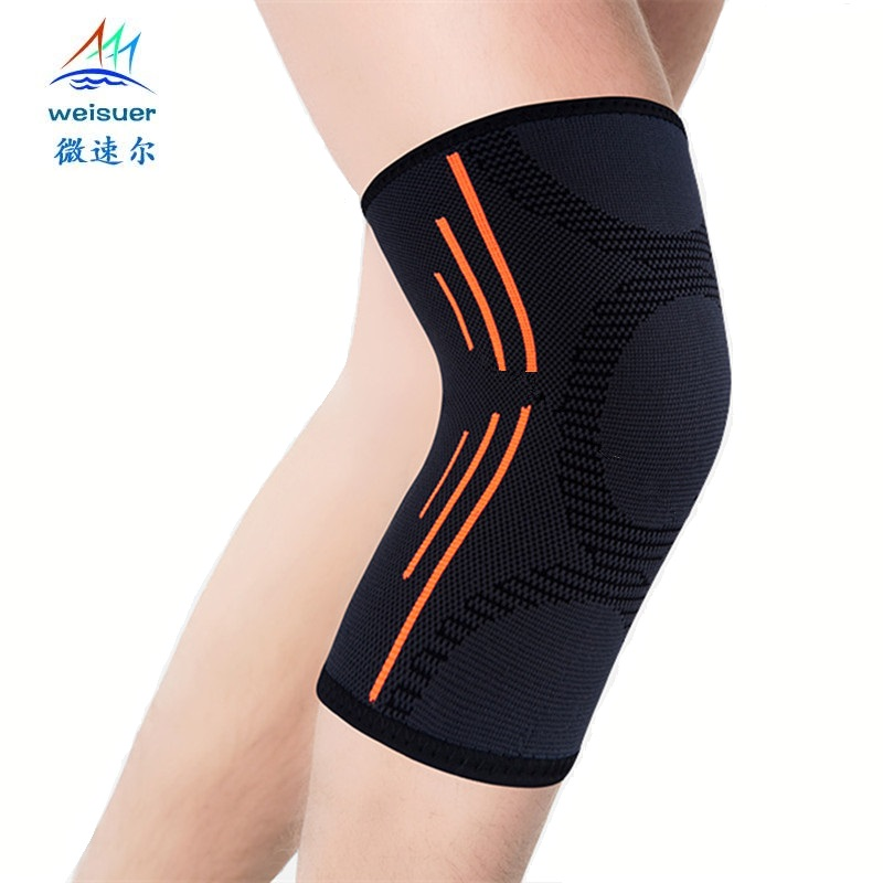 Breathable Basketball Knee <font><b>Pads</b></font> sport safety volleyball kneepad Training Elastic protection Knee Support knee protecter 2pcs