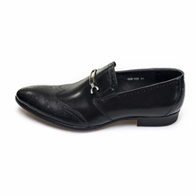 GRIMENTIN fashion UK vintage slip on casual mens leather wingtip slip on shoes