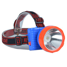 High quality ABS headlights 3 * AA dry battery powered LED for night work portable mining