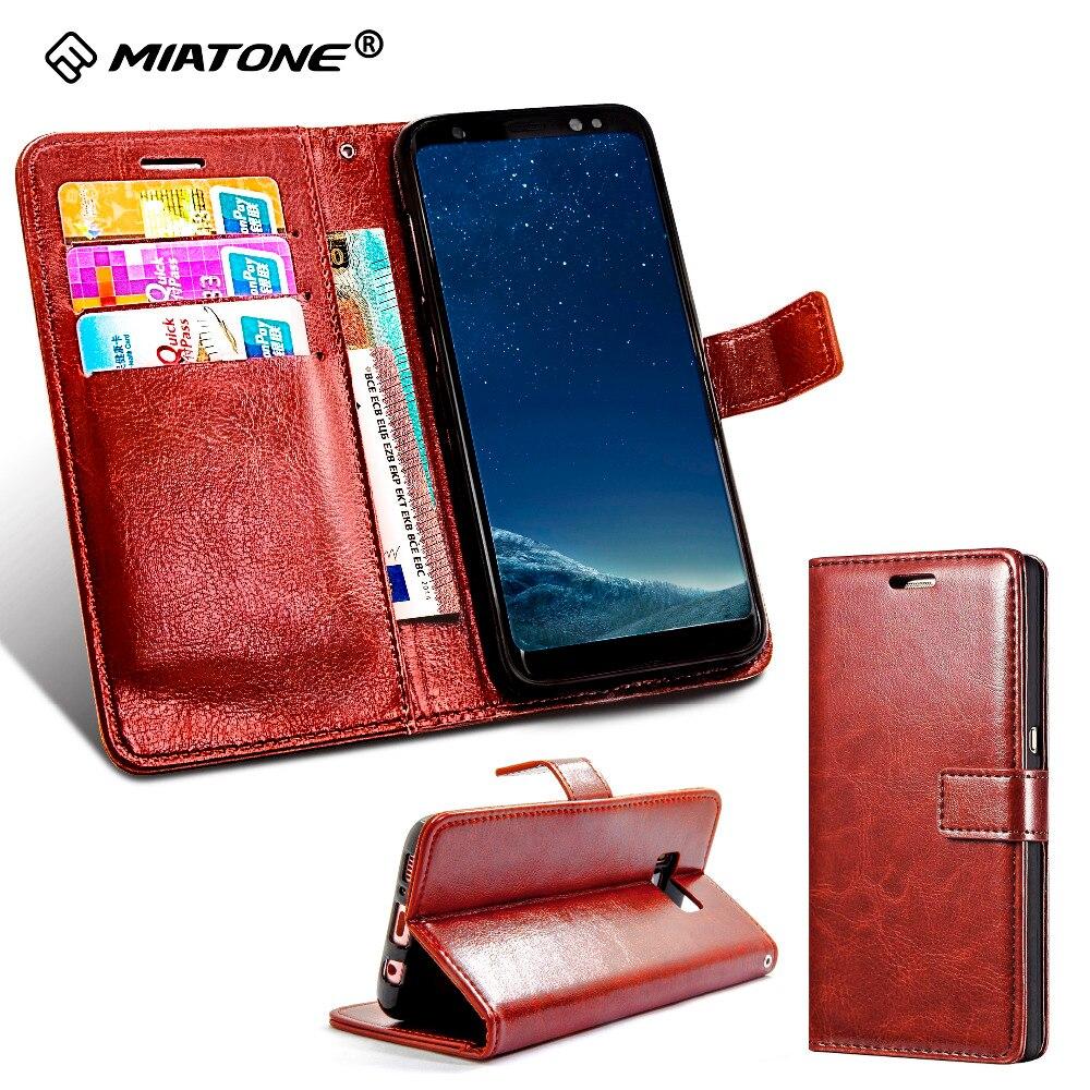 Luksuzna usnjena torbica iz usnja PU za Samsung Galaxy S7 / S7 Edge z - Dodatki in nadomestni deli za mobilne telefone