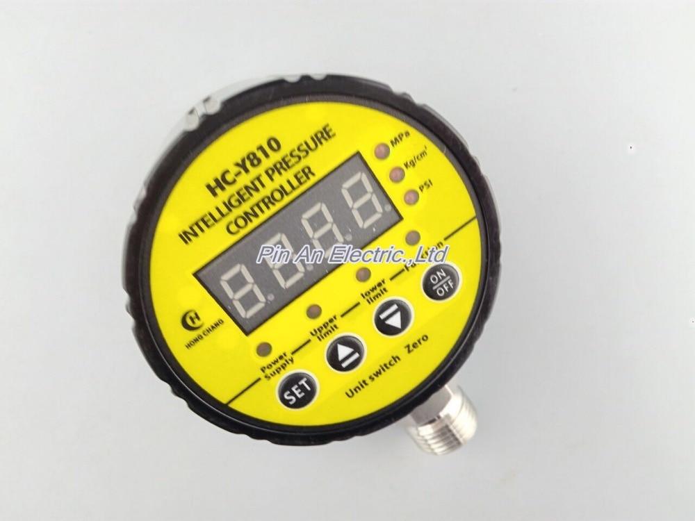 220V AC 0-6mpa Pressure switch / air compressor switch / pump electronic pressure switch/electronic pressure switch 1 6mpa pressure gauge ytnbf100