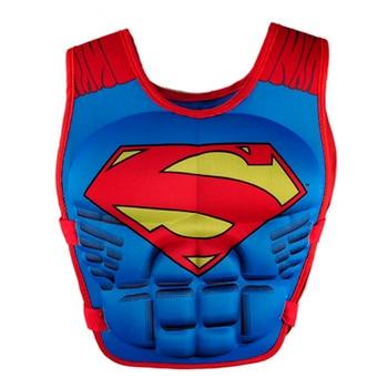 חיים חדשים מעיל אפוד סופרמן באטמן ספיידרמן שחייה תינוק בני בנות דיג superhero שחייה מעגל בריכת אביזרי טבעת