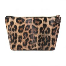 купить 2019 New Leopard Cosmetic Bag Organizer Travel Portable Makeup Pouch Storage Toiletry Bags For Women по цене 228.61 рублей