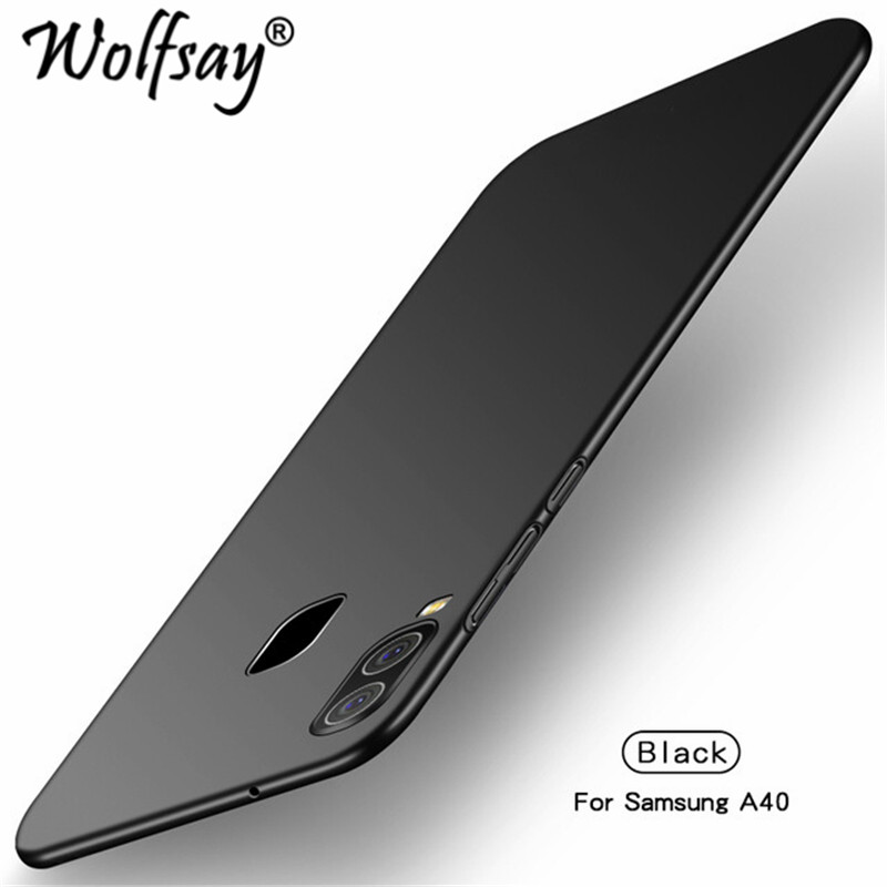 For Cover <font><b>Samsung</b></font> <font><b>Galaxy</b></font> <font><b>A40</b></font> <font><b>Case</b></font> Ultra Thin PC Armor Hard Back <font><b>Phone</b></font> <font><b>Case</b></font> for <font><b>Samsung</b></font> <font><b>A40</b></font> A 40 A405F Cover <font><b>Phone</b></font> Shell Wolfsay image
