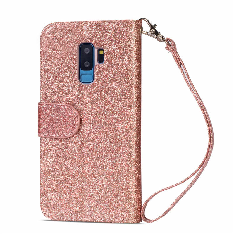 HTB1Rv3KaOnrK1Rjy1Xcq6yeDVXay Wallet PU Leather Case For Samsung Galaxy S11 S10 E S9 S8 Plus S6 S7 Edge Note 10 Pro 8 9 Glitter Silicone Card Slot Flip Cover