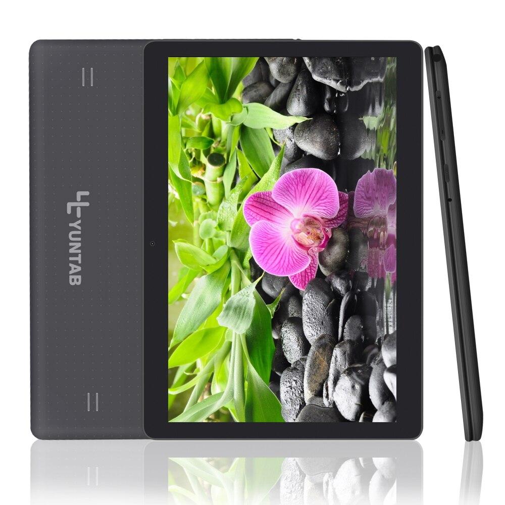 Yuntab Nouveau 10.1 ''K107 Android 5.1 Tablet 1 GB + 16 GB Quad-Core Phablet avec Double Caméra déverrouillé Double Carte Sim Slots Bluetooth GPS