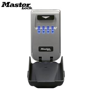 Image 2 - Master Lock กุญแจล็อคกล่องติดผนังกลางแจ้งสภาพอากาศปุ่มกันน้ำกล่องเก็บ Light Up หน้าปัดรหัสผ่านล็อคกล่อง Organizer