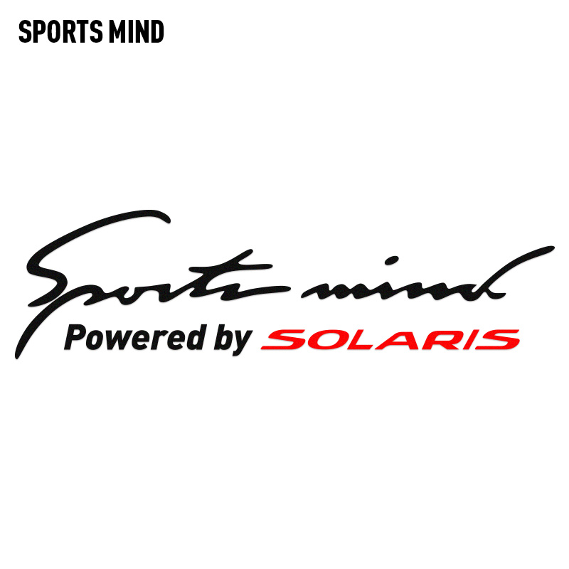 10 Pieces SPORTS MIND Automobiles Vinyl Car Decal Stickers Car-Styling Exterior Accessories For Hyundai Solaris Car Accessories