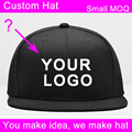 10 pcs/lot acrylic material 3d embroidered logo small order acceptable men's custom cap