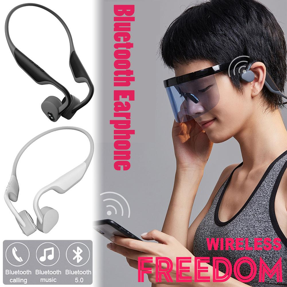 S Wear BH128 Wireless Headphone Bluetooth Earphone Sport Headset Bluetooth 5.0 Bone Conduction Bluetooth Earphone mini no pain wear wireless headset lossless music earphone with mic bone conduction bluetooth headphone for iphone android