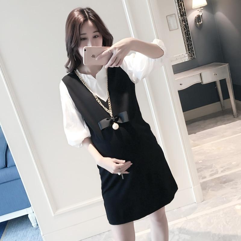 Top Quality Korean Maternity Clothes 2016 New Designer -6165