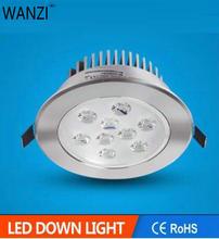 9 Вт 12 Вт Светодиодный светильник вспышка серебро или песок серебро или белый корпус светодиодный потолочный светильник luces decoracion led 220 В