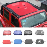 Durable Polyester Mesh Bikini Top Cover Provides UV Sun Protection For 2 Door Or 4 Door