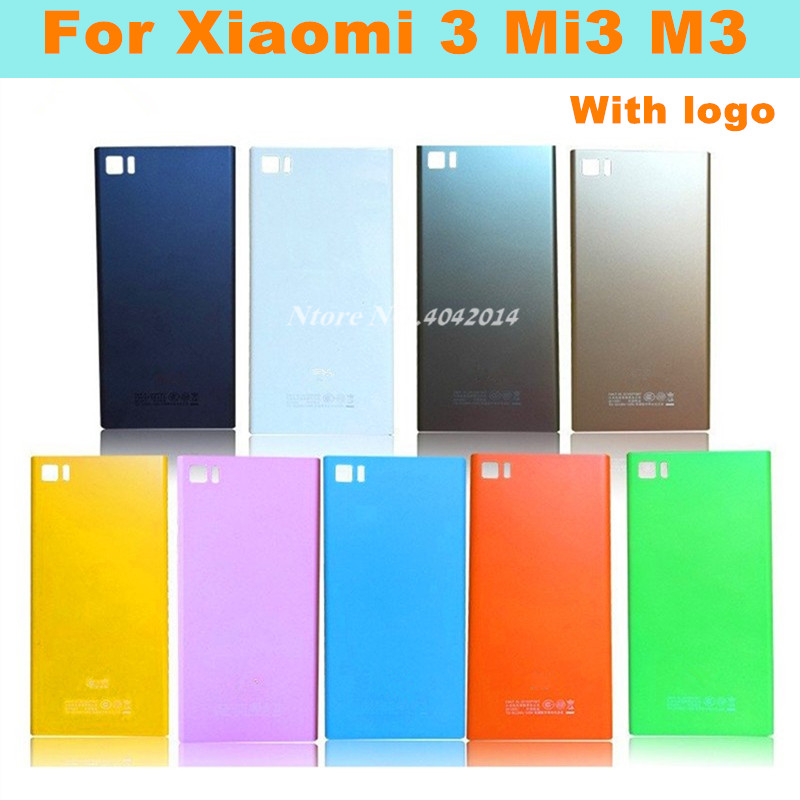 MIXUEWEIQI NEW Original Style Mobile Phone Case For Xiaomi 3 Mi3 M3 WCDMA & TD-CDMA Back Shell Battery Cover + SIM Card Tray