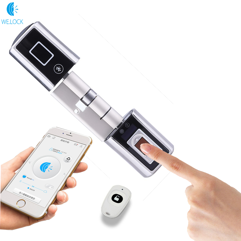 World Smallest Smart Door Lock Bluetooth Intelligent Home