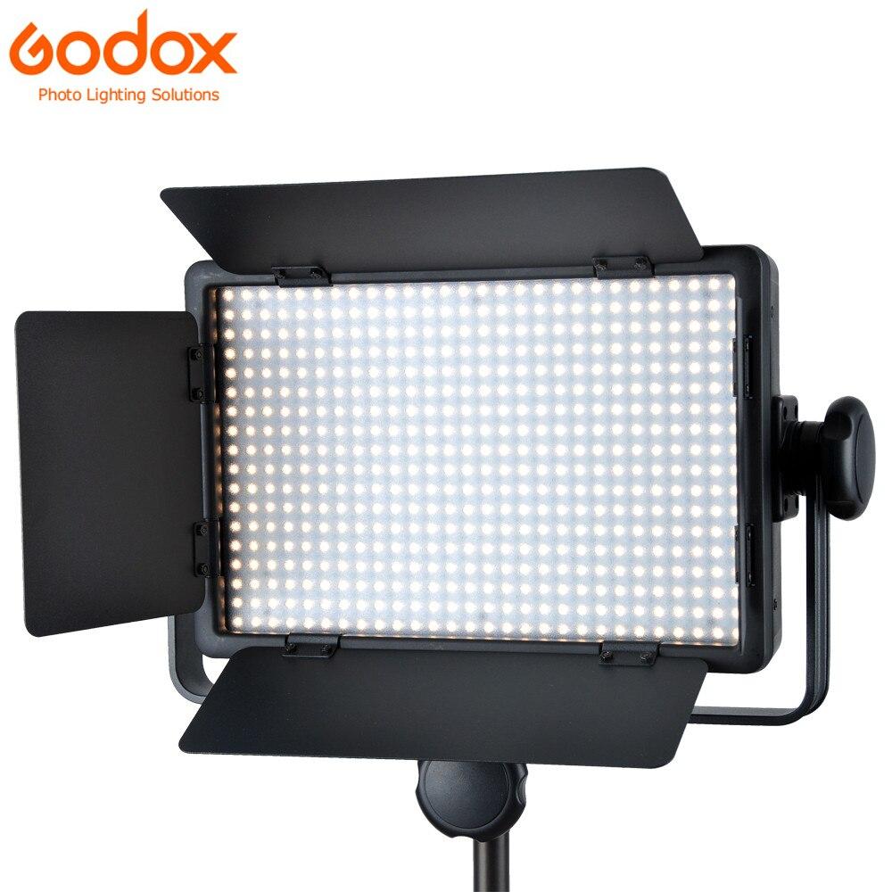Godox LED 500 W blanc Version 5600 K photographie lumière 500 LED éclairage lampe à LED Godox LED série LED vidéo lumière