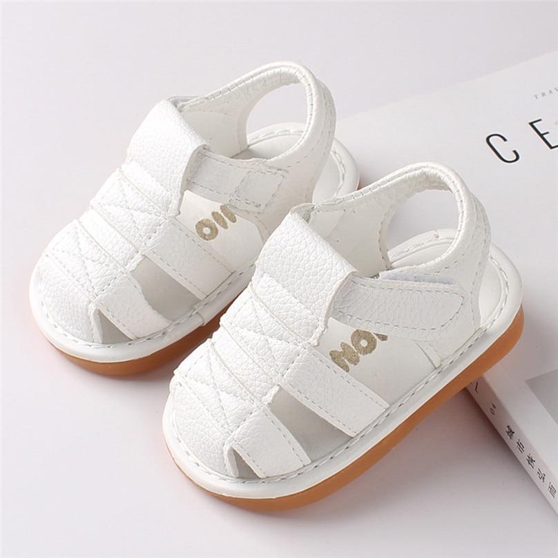 Newborn Baby Girl Boy Roman Shoes First