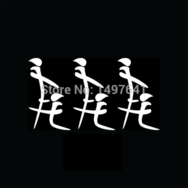 3x kanji blow job car window stickers pack lot head vinyl decal for reflector truck bumpers funny jdm import writing humour joke in car stickers from