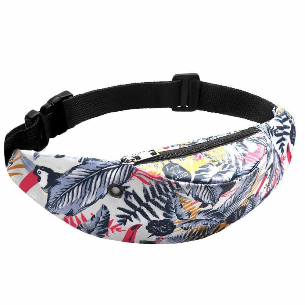 新着因果スタイル男と女性のカラフルなウエストバッグ防水旅行ファニーパック携帯電話のウエストパックベルトバッグヒップホップ