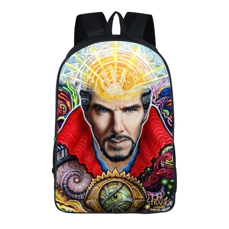 Doctor Strange Backpack For Teenagers Children Daily Backpacks Men Women Travel Bag Kids School Bags Shoulders bag Package