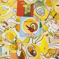 46 unids/caja Gudetama mini etiqueta engomada de papel de decoración diario DIY scrapbooking sello pegatina kawaii papelería