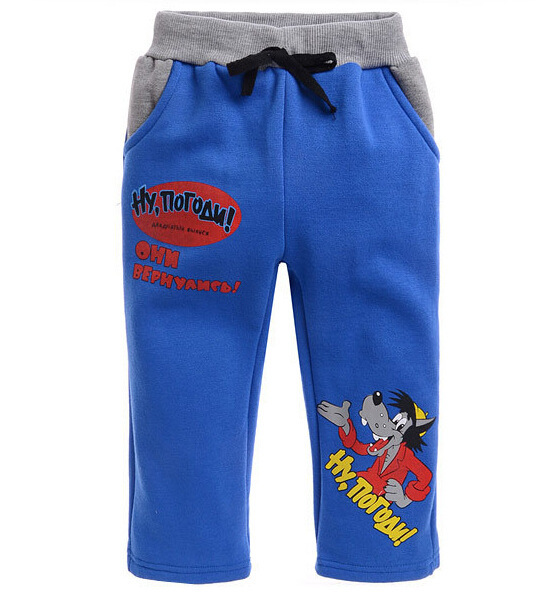 2016-Cool-Sets-Kids-Clothing-Sets-Boys-Girls-Sports-Suits-Wolf-Printing-Zipper-Blue-Hoodies-Pants-Suits-for-90-130cm-Children-2