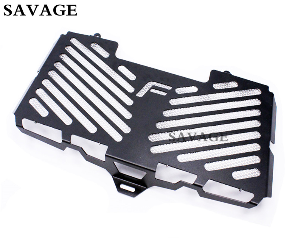 Black Radiator Grille Guard Cover Protector For BMW F800 R S 2009-2016 10 11 12 13 14 15