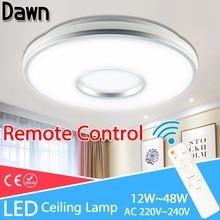 Green Eye Modern ceiling lights AC 220V 240V led light lamparas de techo lamp Living Room Bedroom Remote Control