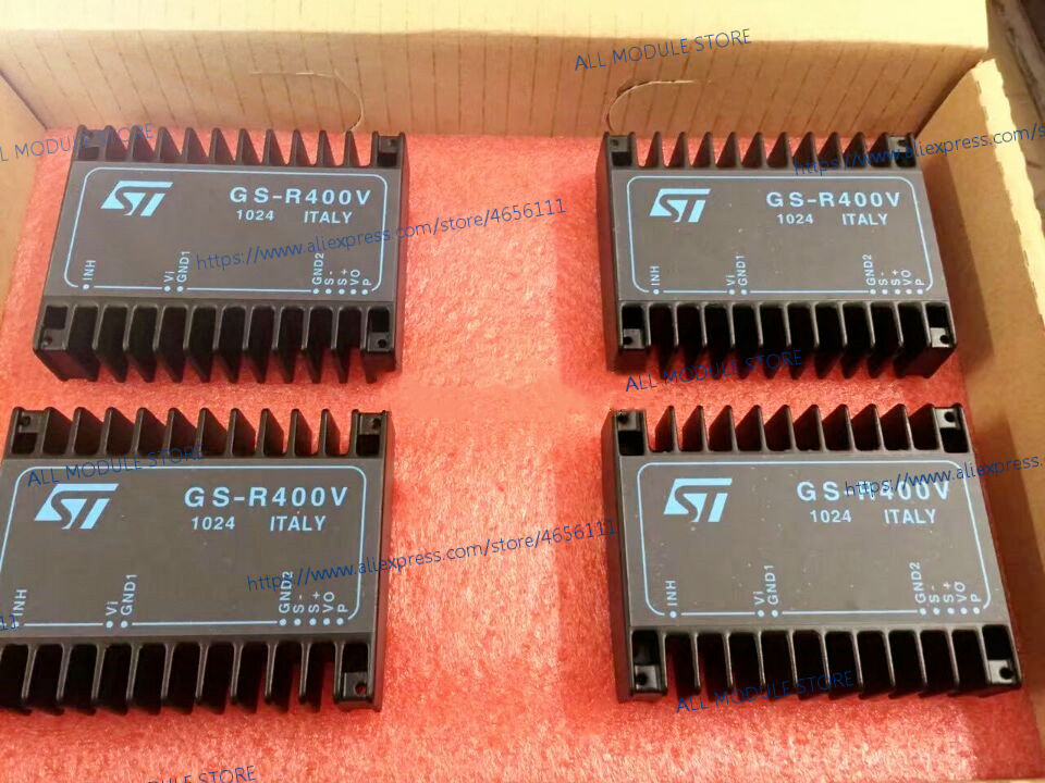 GS R400V 20W TO 140W STEP DOWN SWITCHING REGULATOR FAMILY