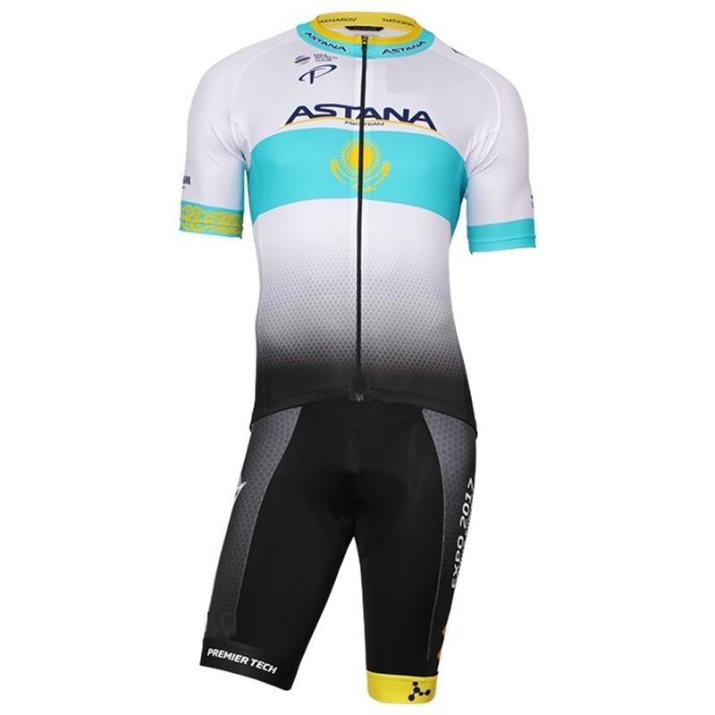 где купить UCI Pro team cycling Jersey 2018 ropa ciclismo Road bike cycling clothing short sleeve Jersey and bib short cycling kit for men по лучшей цене
