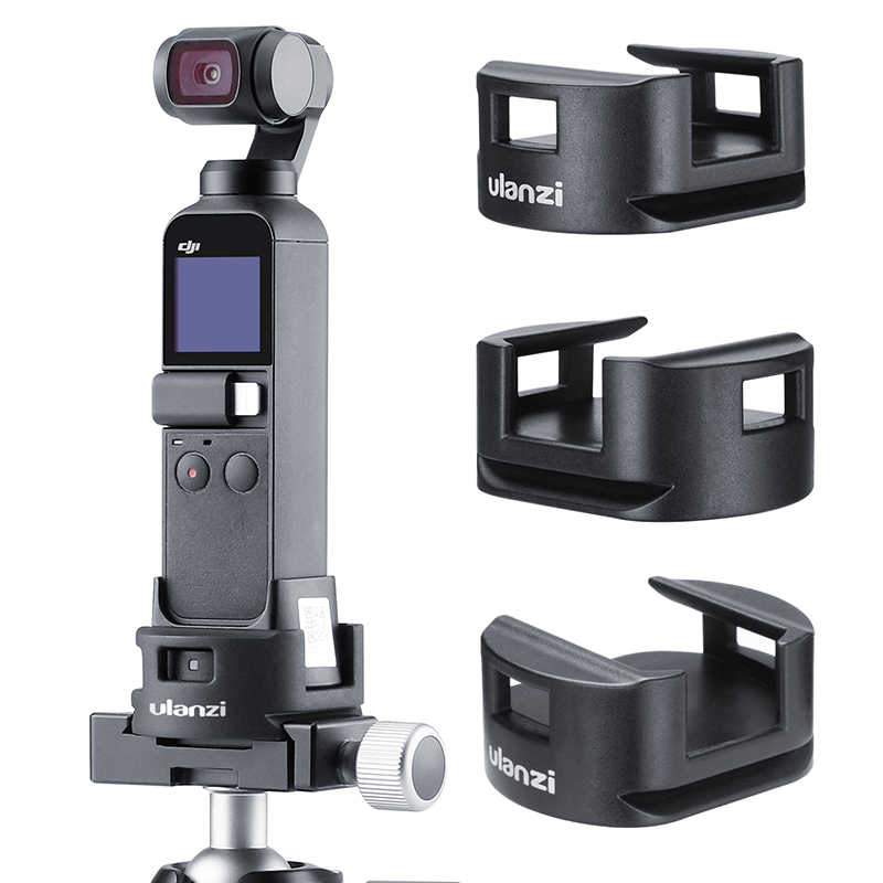 MeterMall New for Ulanzi OP-4 WiFi Tr Adapter for DJI for OSMO Pocket WiFi Base Accessory with Tr Head Quick Release Mount