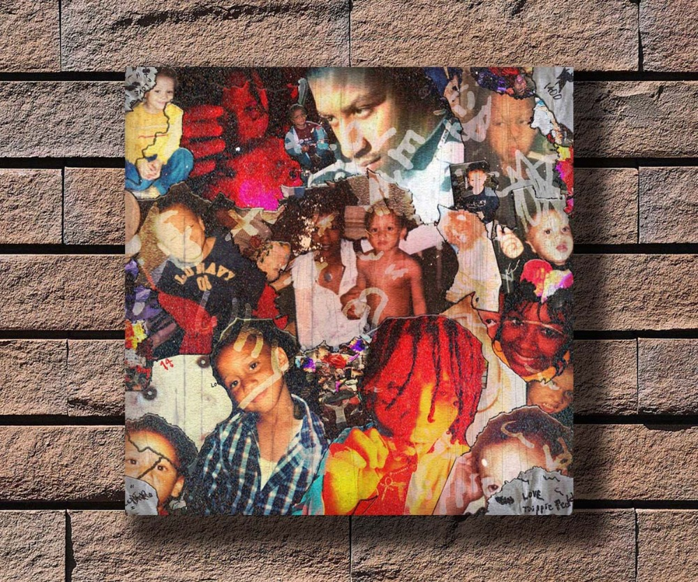 Trippie Redd poster wall decoration photo print 24x24 inches